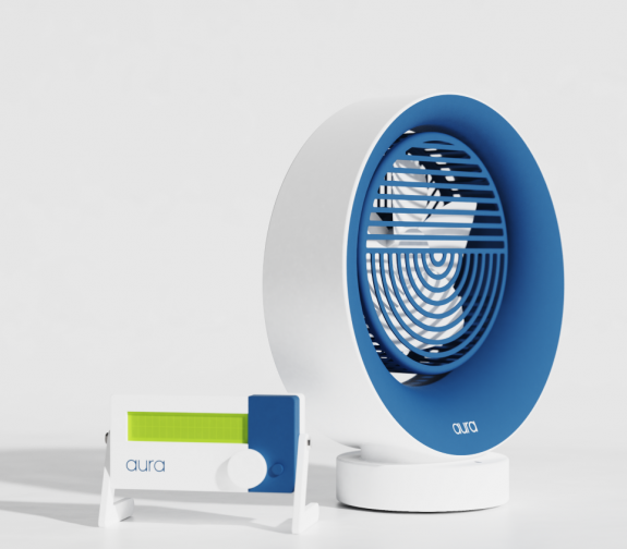 Aura - Temperature Controlled Fan