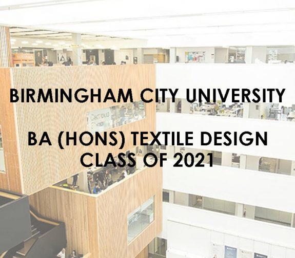 Birmingham City University - BA (Hons) Textile Design