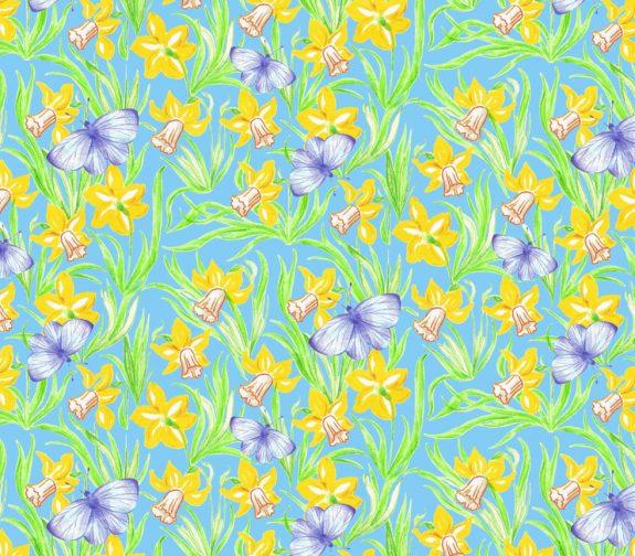 Awaken healing spirits of spring - repeat print