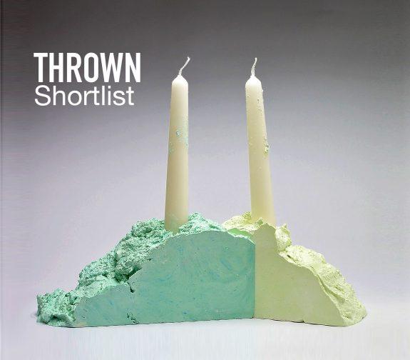 THROWN Shortlist Candlesticks