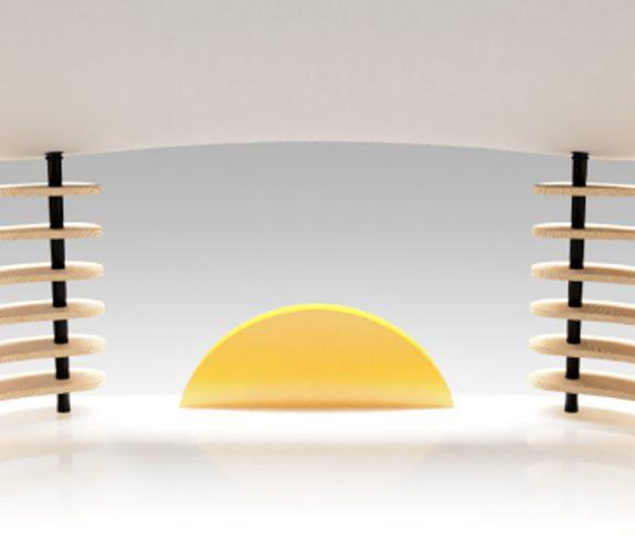 'Sunrise Desk' design for a Mindful Workspace