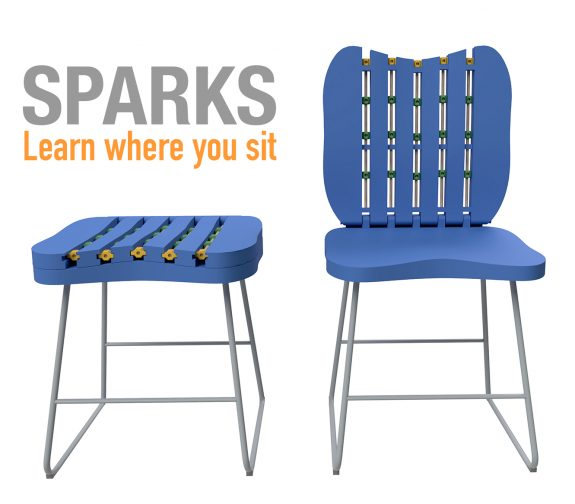 Sparks - the Chair that make you creative