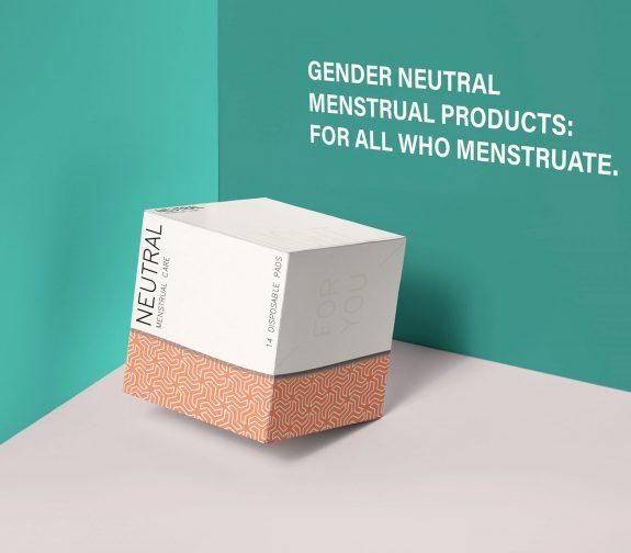 Gender Neutral Menstrual Products Rebranding