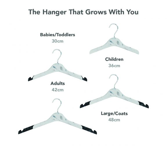 The Hanger that Grows with you