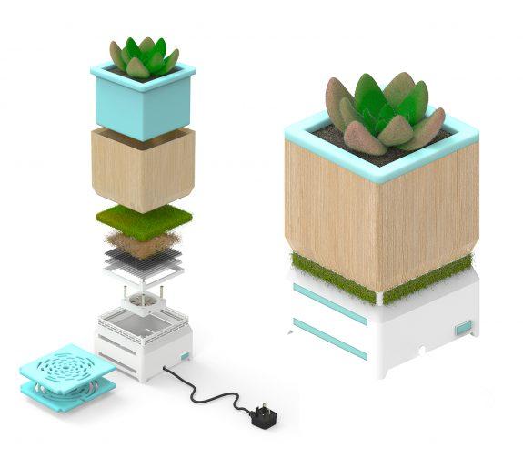 PlantAir Planter