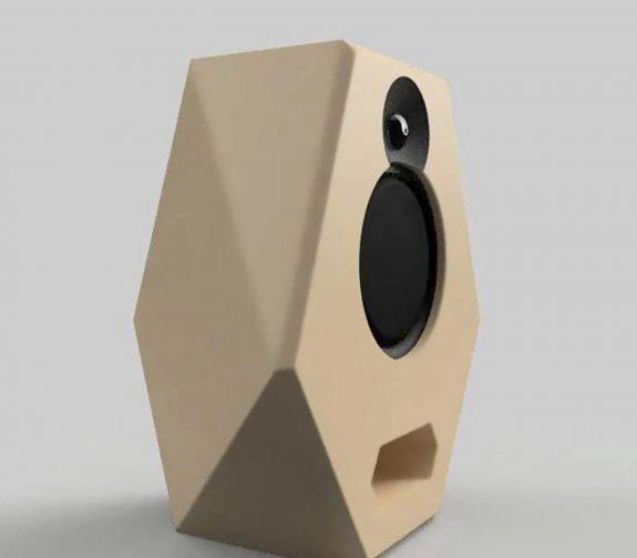 Ceramic Monitor Speakers