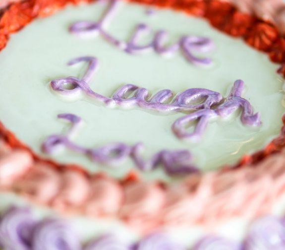 Live Laugh Love (detail)
