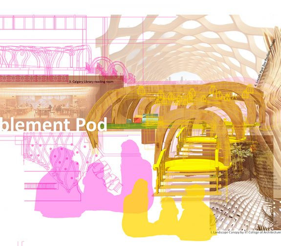 Babblement Pod, Spatial Diagram