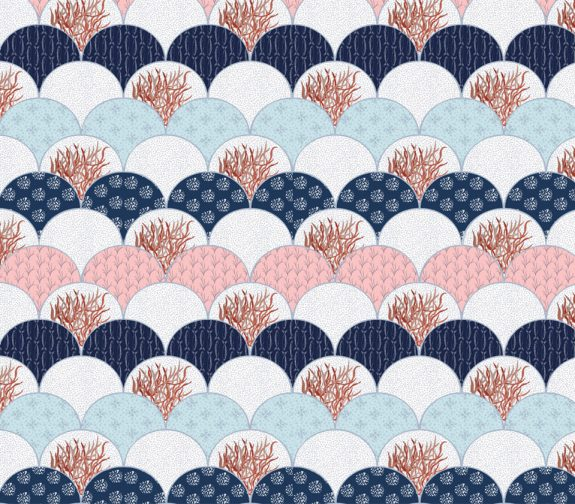 Coquilles - Collection 1 print design