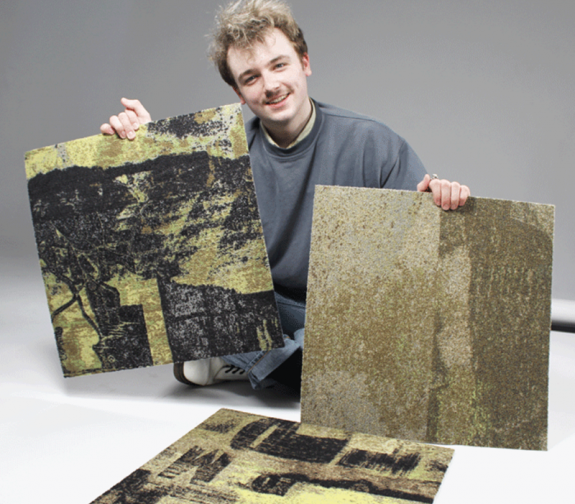 Textile Design student collaborates with innovative flooring company