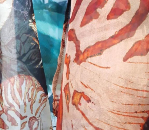 Oceans and Marine Life - Printed Fabric Samples