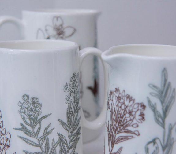 Scandi Flora - Ceramic Collection
