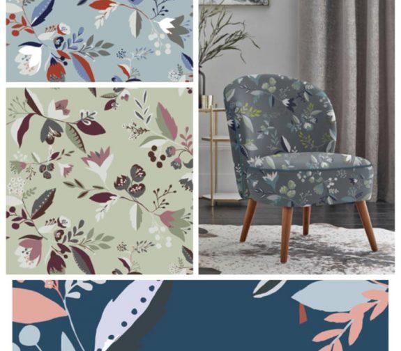 Scandi Flora - Surface Pattern Design