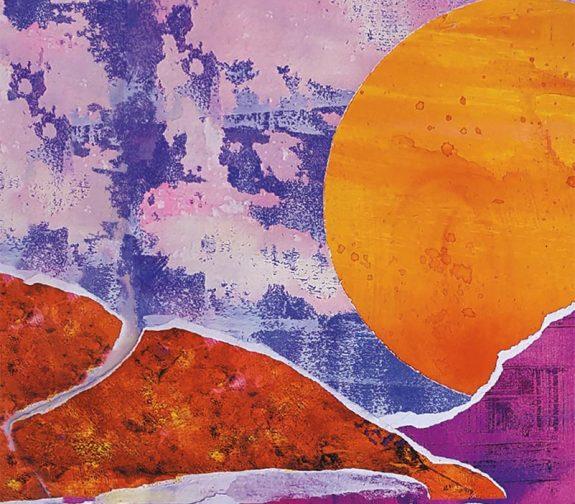 Dawn till Dusk in the Arizona Desert - Original Artwork