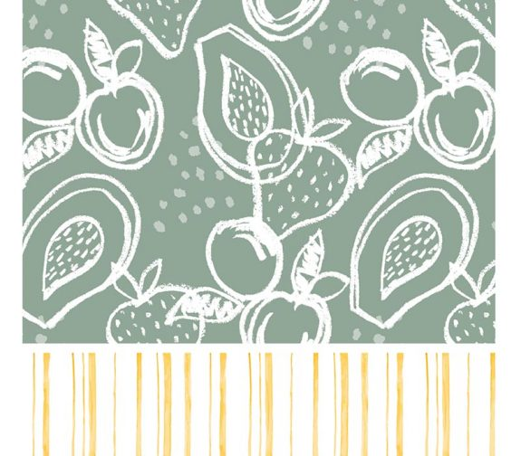 Fruits, Farms and Florals - Surface Pattern Design