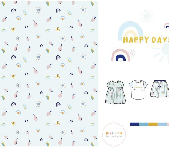 Fruits, Farms and Florals - Fashion Print Design