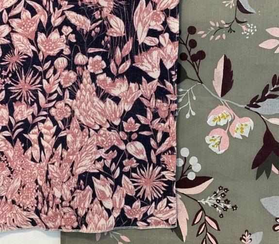 Scandi Flora - Interior Fabric Samples