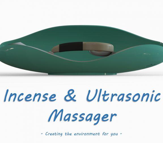 Multisensory Ultrasonic Massager