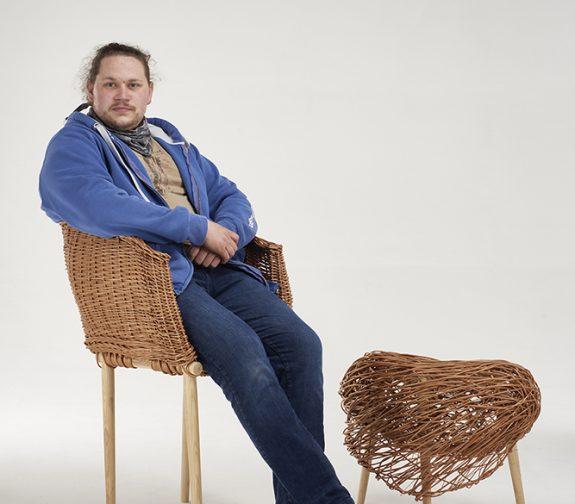 Traditional Weave meets Contemporary Craft - Simon Redstone, 3D Designer Maker, Staffordshire University
