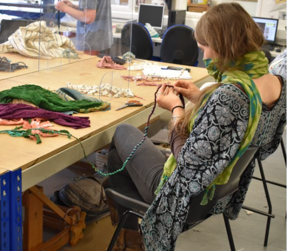 Hereford College of Arts supports Fashion Revolution Week 2021
