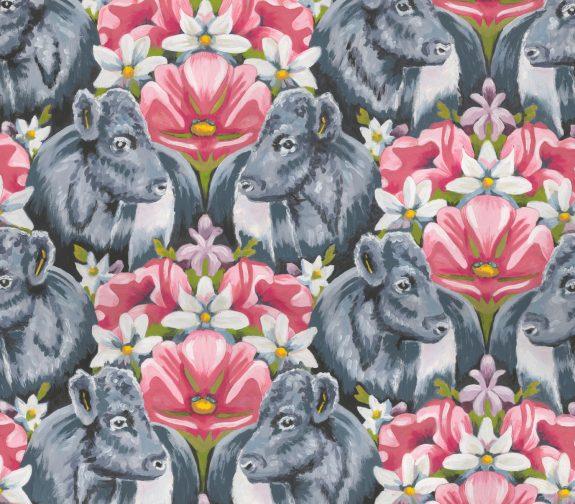 Belted Beauties Wallpaper