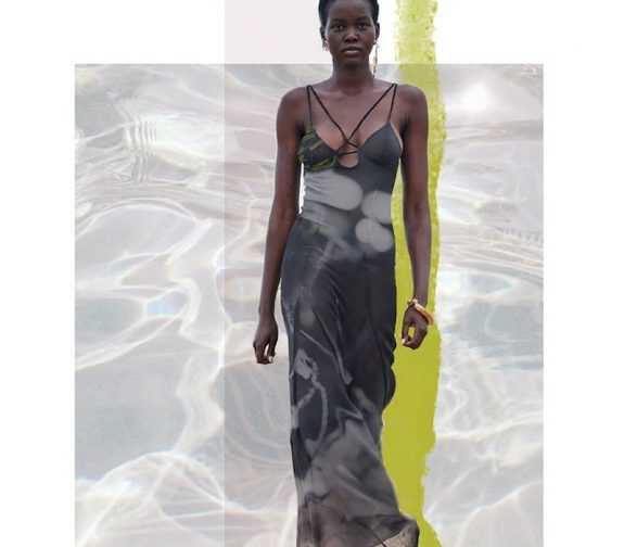 Kalon Coast : Visualisation of one of the garments from the collection