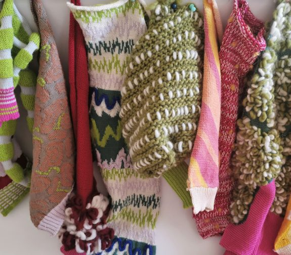 What a treat! - knit sample collection