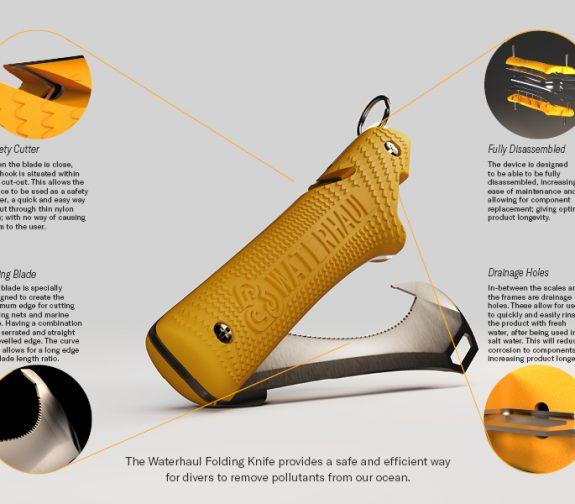 Waterhaul Folding Knife Hero Board