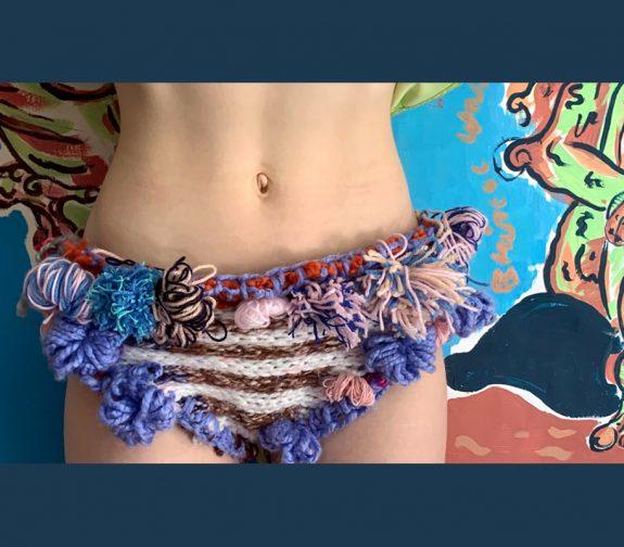 What I do in the bath - Crochet balacalava