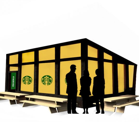 Starbucks recycling app