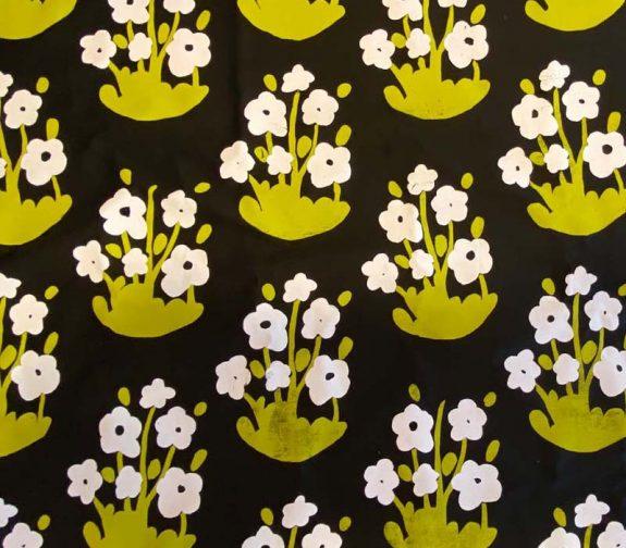 Ljusa hem. Floral print co-ordinate.