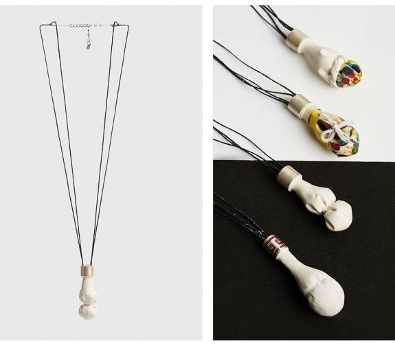 Foot binding, pendants