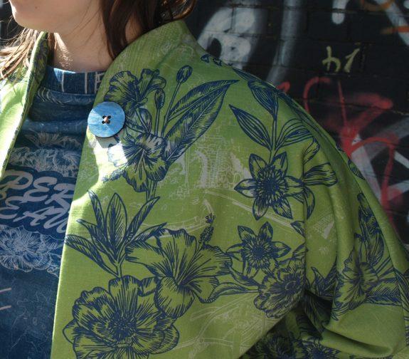 Jess modelling jacket