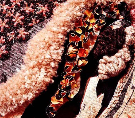 Dressed in Nature. Embellished detail