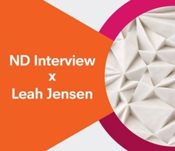 ND Interview x Leah Jensen