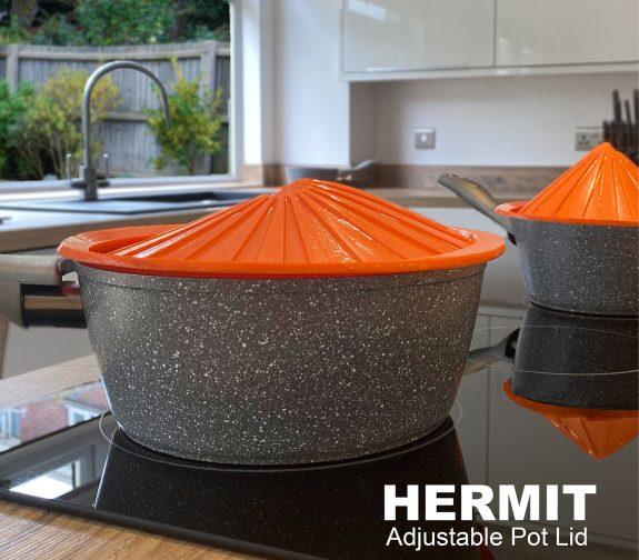HERMIT - Adjustable pot lid