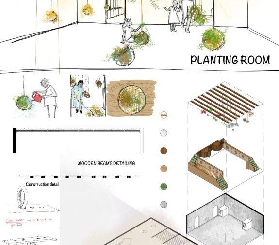 Indoor Planting Room