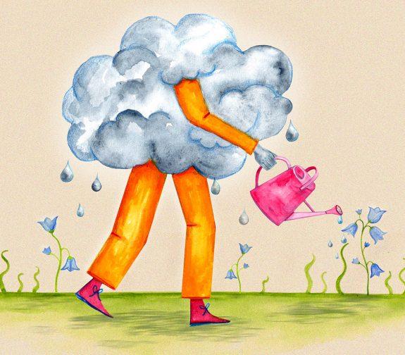 Helpful Raincloud